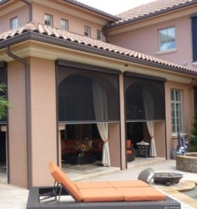 Free Estimate On Retractable Screens And Motorized