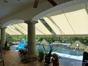 retractable awning for your lanai
