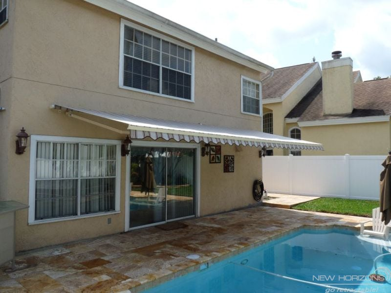 Sunesta awnings can cut your energy costs by 25 for Cost of retractable screens