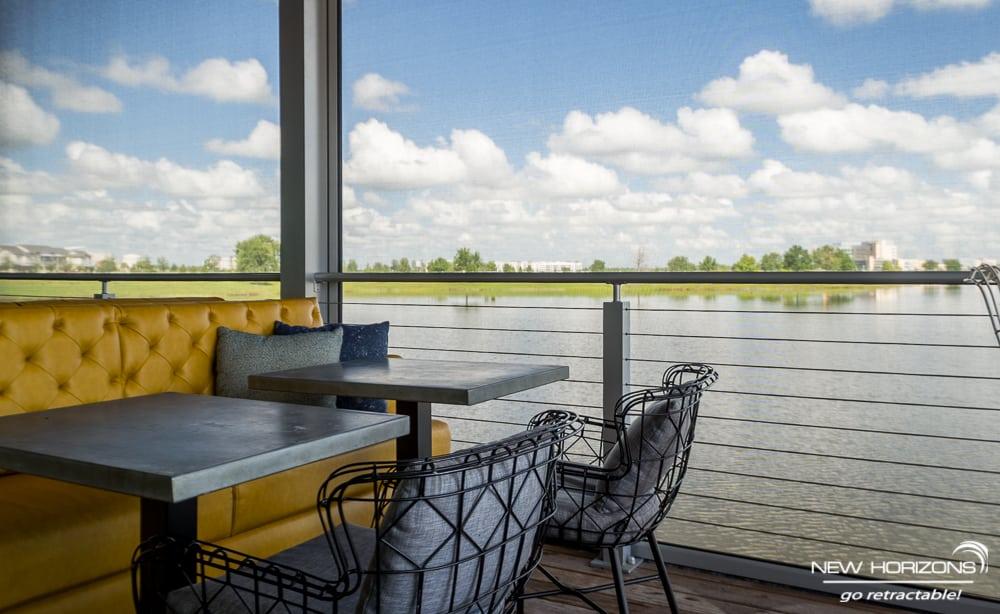 Canvas Restaurant - Lake Nona - Motorized Screens ...