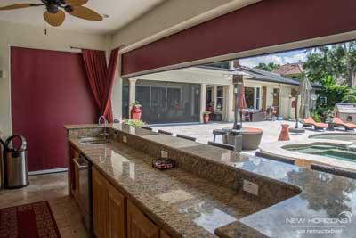 Outdoor Kitchen Screens Orlando Fl New Horizons
