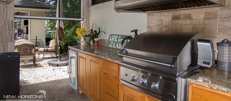 Outdoor Kitchen Remodel, Orlando, FL | New Horizons