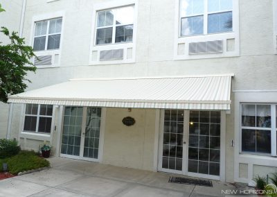 Motorized Retractable Awning Assisted Living