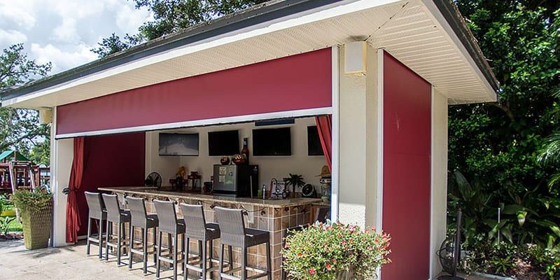 Security Shutters For Outdoor Kitchen Orlando Fl New Horizons